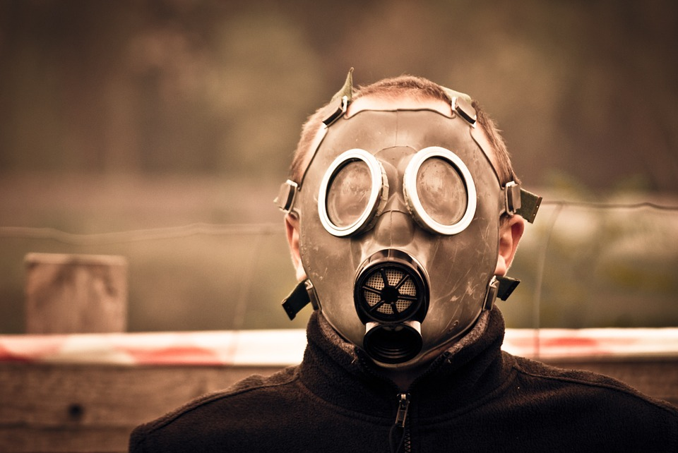 Gas Mask box your lunch