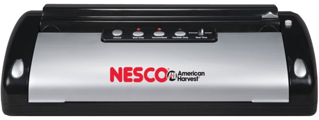 Nesco vacuum sealer for food