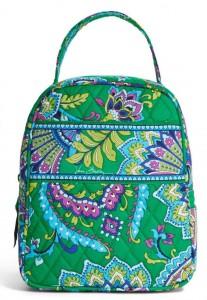 paisley green vera bradley lunch bag
