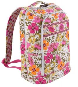vera bradley flower backpack