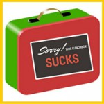 red green lunch box